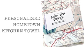 Hometown Personalized Towel