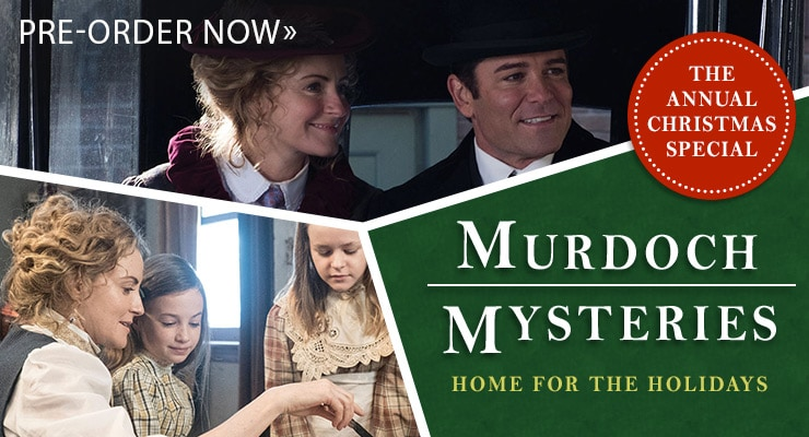 Murdoch Mysteries Home for the Holidays