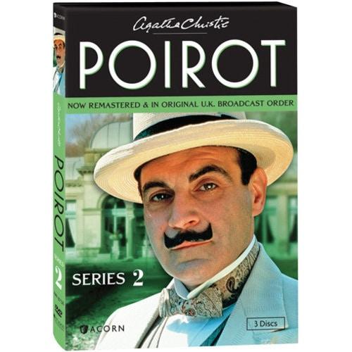 b84067616062d Agatha Christie's Poirot: Series 2 DVD & Blu-ray | 3 Reviews | 5 Stars |  Acorn | XA0312