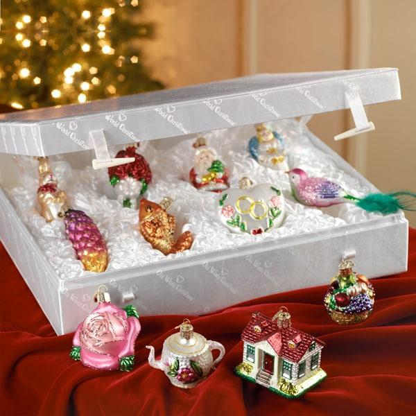 Christmas Ornament Sets.Bride S Tree Christmas Ornaments