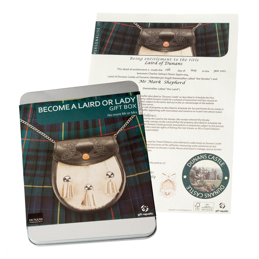 Become a Scottish Laird or Lady Kit  sc 1 st  Acorn & Become a Scottish Laird or Lady Kit at Acorn | HR2722 Aboutintivar.Com