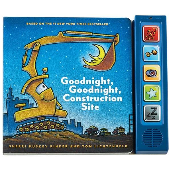Construction Site Boards: Goodnight, Goodnight Construction Site Board Book With