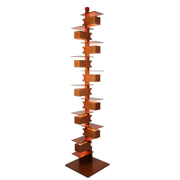 Frank Lloyd Wright® Taliesin 2 Floor Lamp in Cherry or Walnut at ...