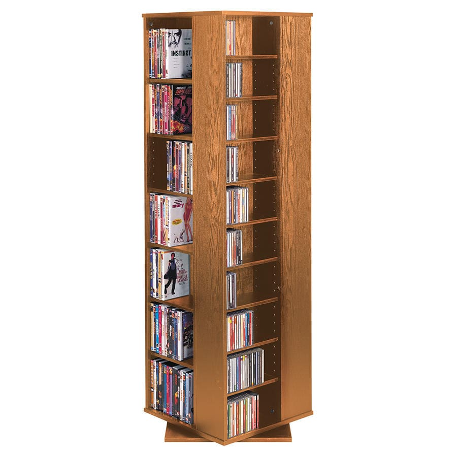 Incroyable Spinning Tower Media Storage