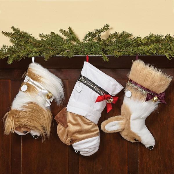 Dog Christmas Stocking.Dog Breed Christmas Stockings