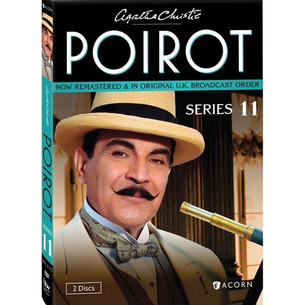 agatha christie poirot  Agatha Christie's Poirot: Series 11 DVD & Blu-ray | 2 Reviews | 5 ...