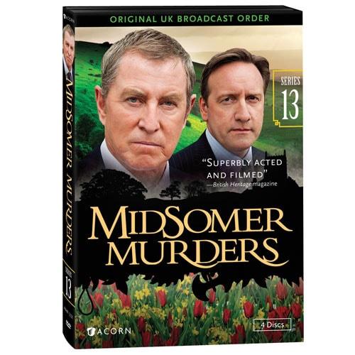 Midsomer Murders Not In My Backyard midsomer murders: series 13 dvd | 4 reviews | 5 stars | acorn | xa2672