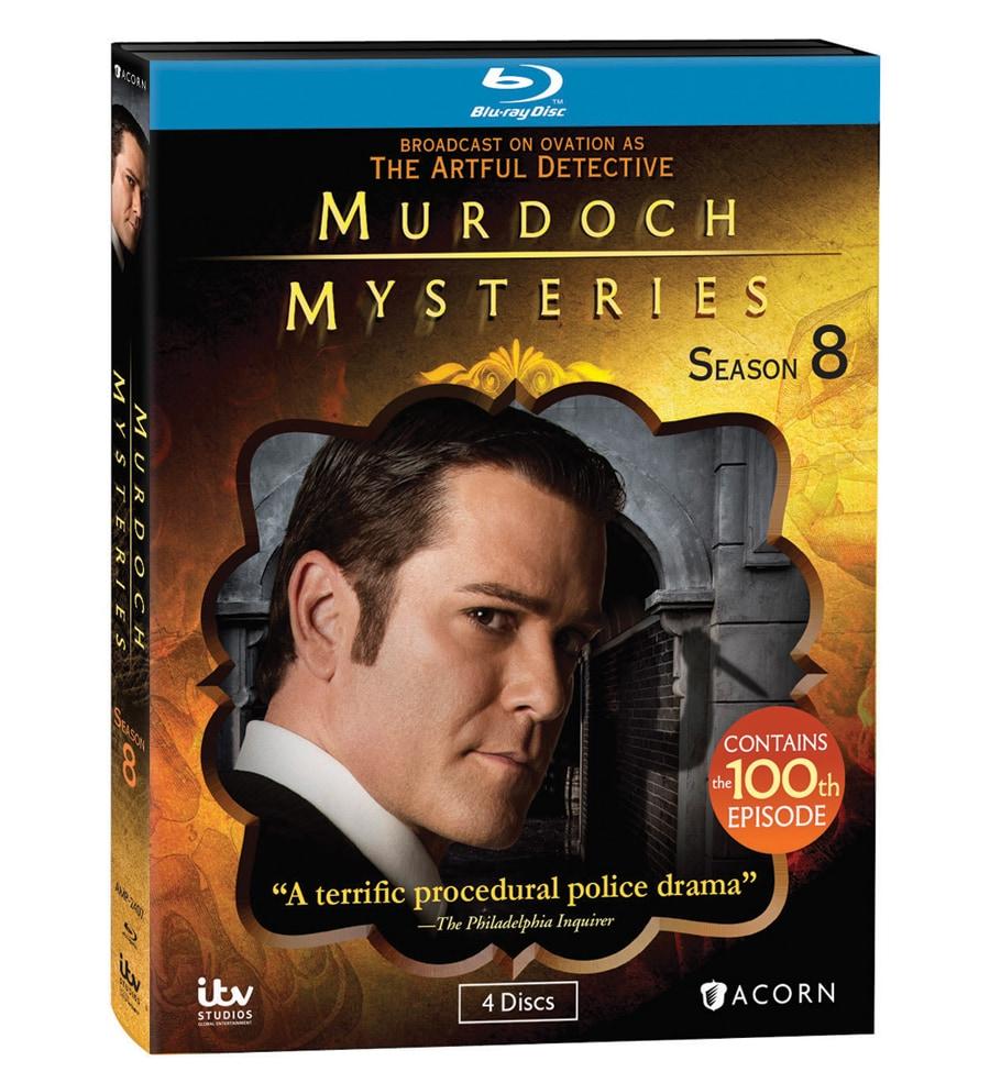 Murdoch Mysteries Season 8 Dvd Blu Ray