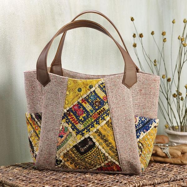 4006aba0fe7 Banjara Carryall Purse - Colorful Tote Bag   6 Reviews   4.5 Stars   Acorn    XA9192