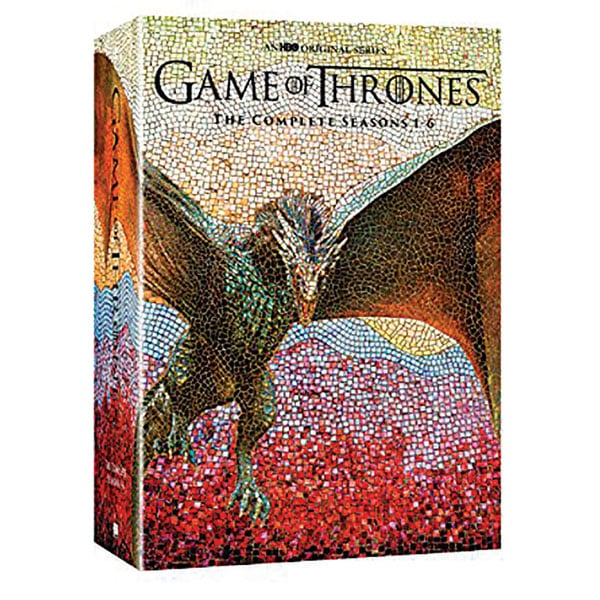 Game Of Thrones The Complete Seasons 1 6 Dvd