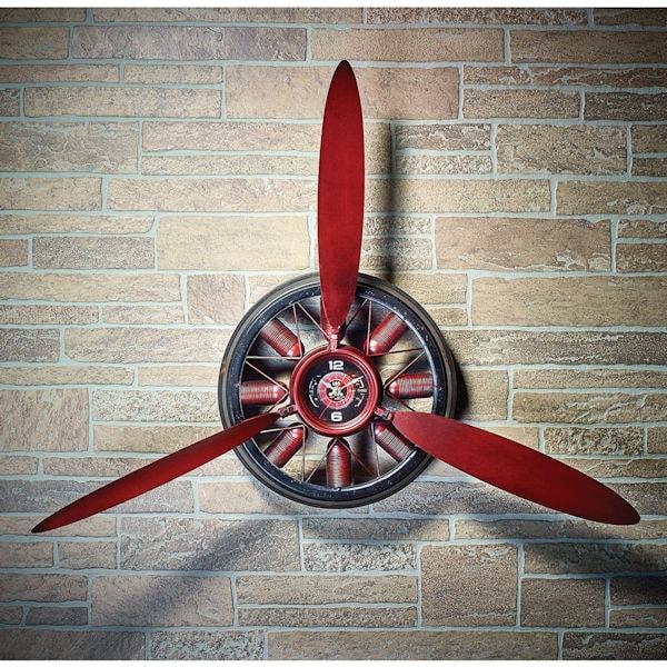 Propeller Wall Clock : Propeller wall clock at acorn xb