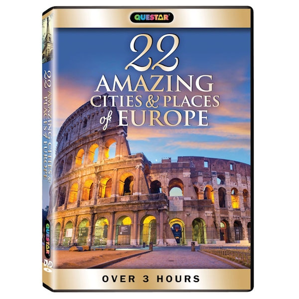 Amazing Places To Go Europe: 22 Amazing Cities And Places Of Europe DVD