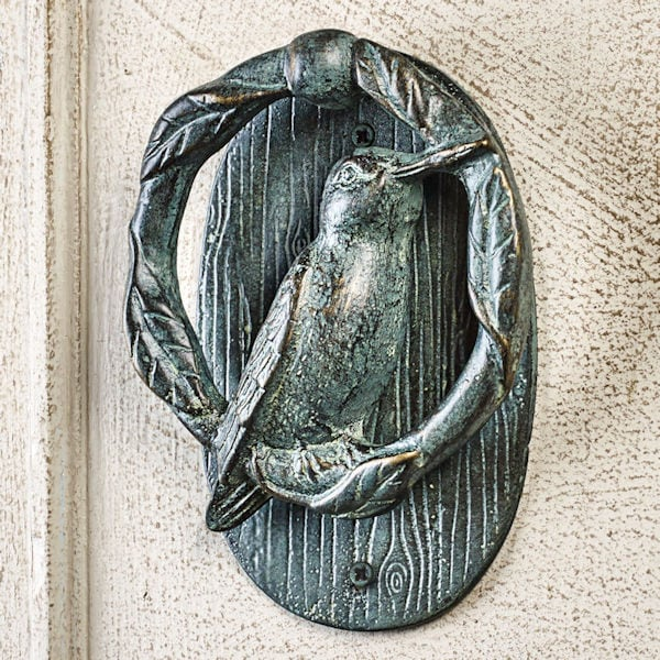 Hummingbird Door Knocker