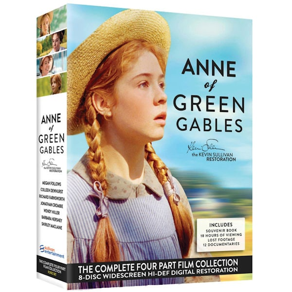 Anne Of Green Gables Boxed Set Of 8 Dvds With Souvenir