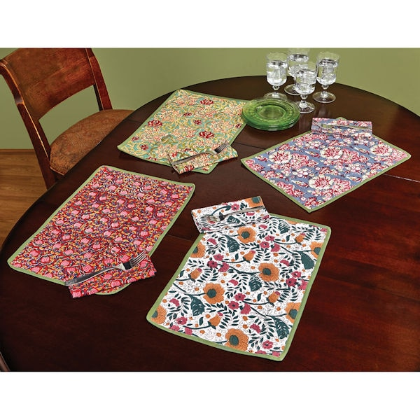 jaipur hand printed placemats 1 review 5 stars acorn xc3187