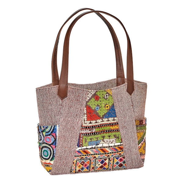 Banjara embroidery tote bag