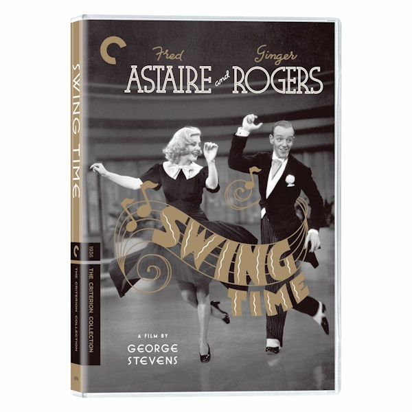 The Criterion Collection Swing Time Dvd Blu Ray Acorn Xc9802