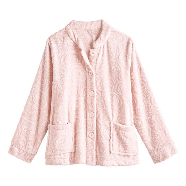 Ladies deep blue bed jacket size 20-22 only