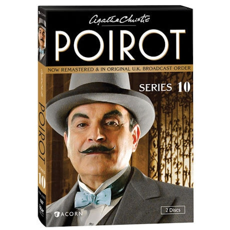 Agatha Christie's Poirot: Series 10 DVD & Blu-ray