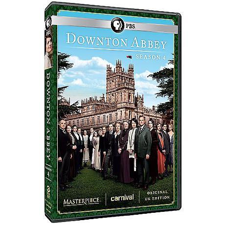 Downton Abbey: Season 4 DVD & Blu-ray
