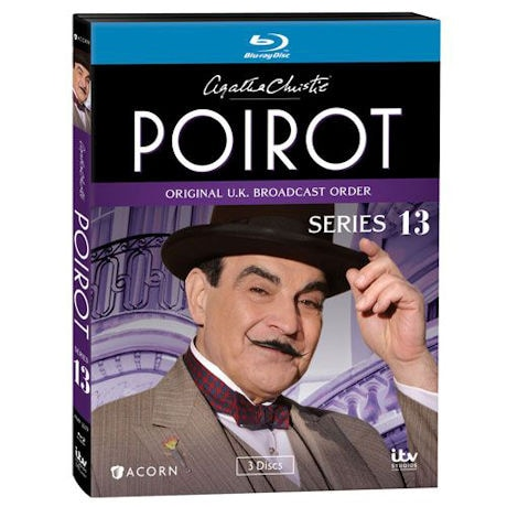 Agatha Christie's Poirot: Series 13 DVD & Blu-ray