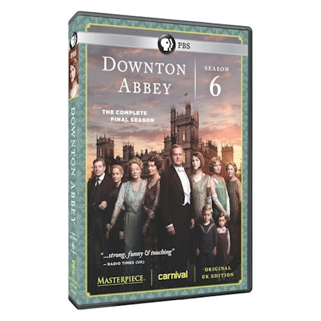 Downton Abbey: Season 6 DVD & Blu-ray