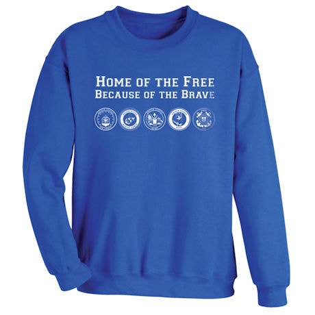 Home of the Free Because of the Brave Shirts