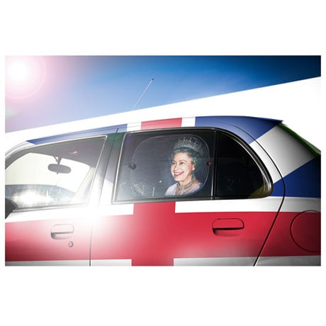 Her Majesty the Queen Car Sun Shades