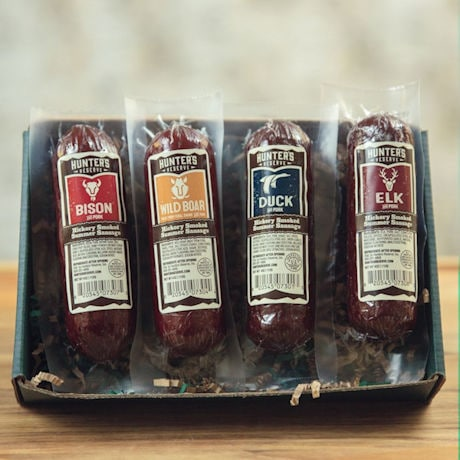 Hunters Delight Open Season Gift Boxes - Taste Of The Wild Summer Sausage