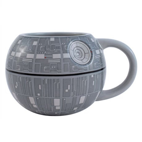 Star Wars™ 3D Death Star Ceramic Mug