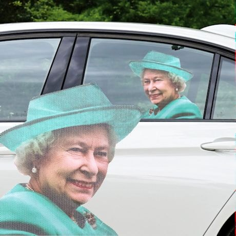 Ride With The Queen Car Decal