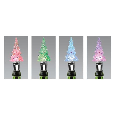 Christmas Tress LED Wine Stopper
