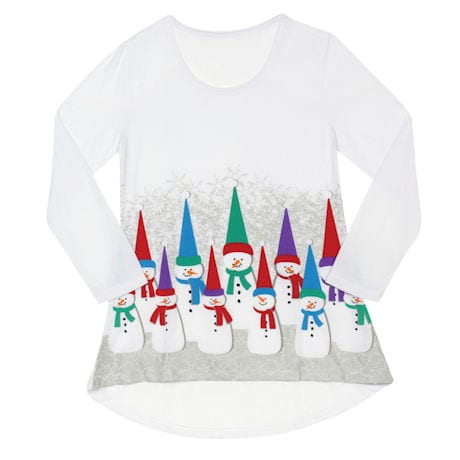 Ultimate Snowman Jersey Tunic