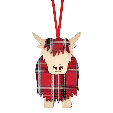 Scottish Ornaments: Hamish the Highland Cow