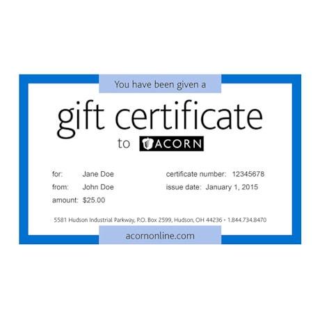 Gift Certificate - U.S.P.S.