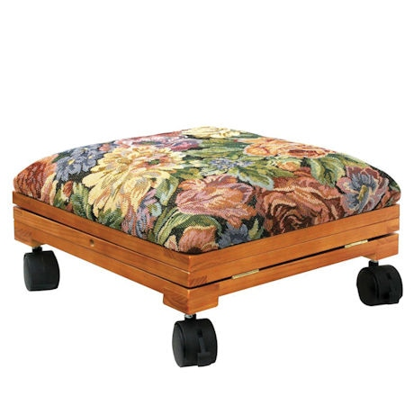 Incredible Adjustable Fold Away Tapestry Footstool 2 Reviews 5 Ocoug Best Dining Table And Chair Ideas Images Ocougorg