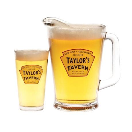 Personalized Tavern Pint Glasses