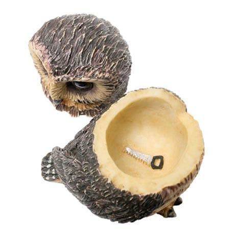Owl Pot Bellys® Boxes - Saw-Whet Owl