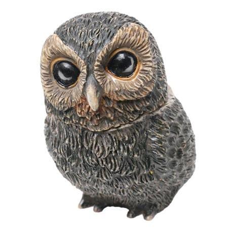 Owl Pot Bellys® Boxes - Flammulated Owl