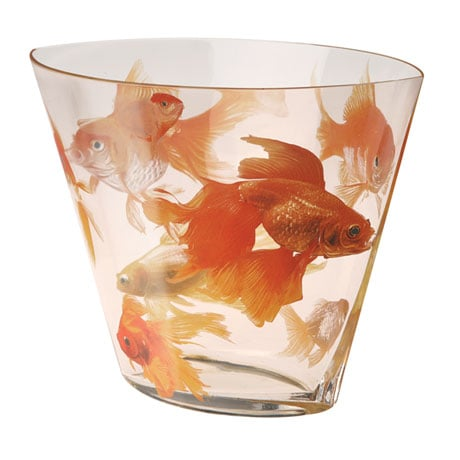 Koi Glass Vase