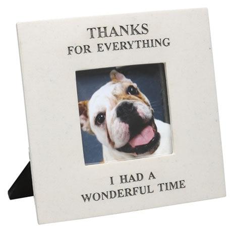 Thanks For Everything Memorial Frame