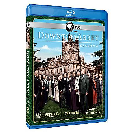 Downton Abbey: Season 4 DVD & Blu-ray