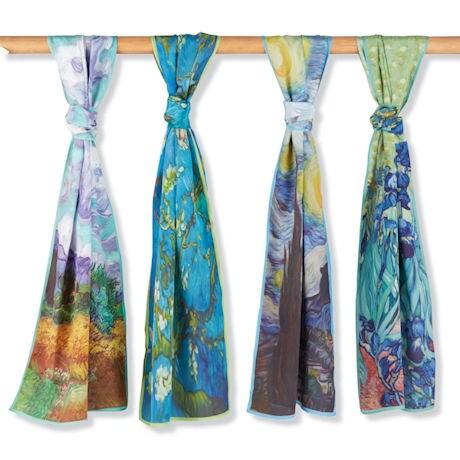 Van Gogh Silk Scarves