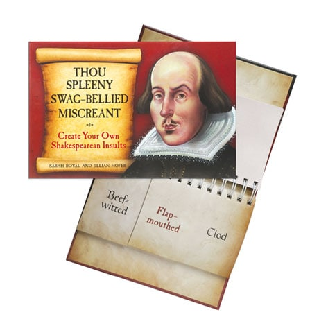 Thou Spleeny Swag-Bellied Miscreant: Create Your Own Shakespearean Insults Book