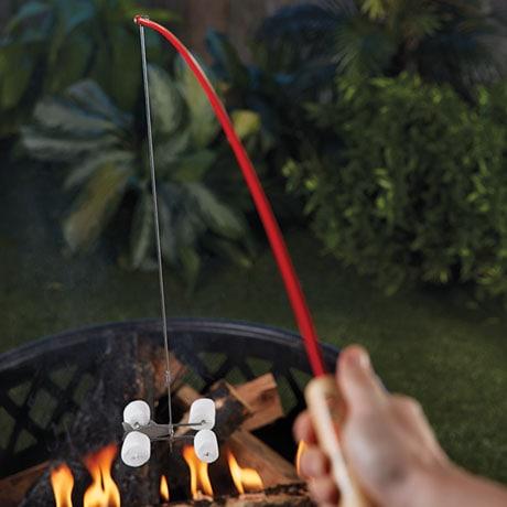 Campfire Fishing Pole