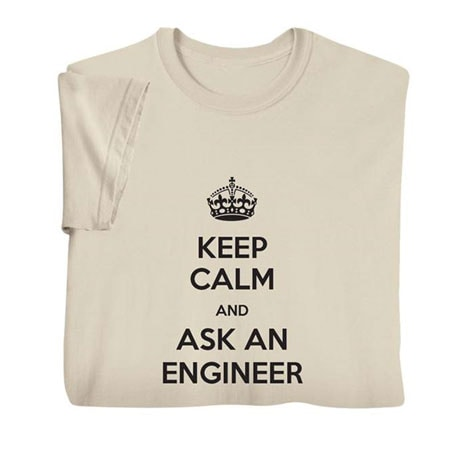 """Personalized """"Keep Calm"""" Shirts"""