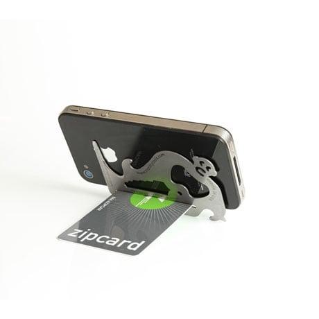 Pocket Monkey Utility Tool - Wallet-Sized Multitool by Zootility
