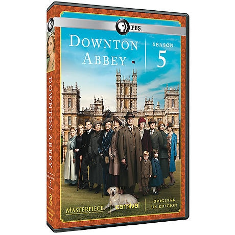 Downton Abbey: Season 5 DVD & Blu-ray