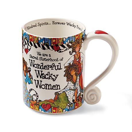 Wonderful Wacky Women Coffee Mug With Art By Suzy Toronto
