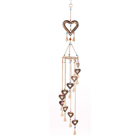 Hearts Wind Chime